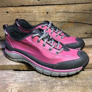Clarks Wave Andes Pink Walking Shoes
